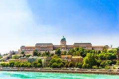 Royal palace of Buda in Hungary. View on Royal palace of Buda in Hungary Royalty Free Stock Image