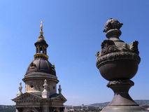 View of the Royal Palace in Budapest Hungary Stock Photo