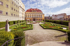 View of the Royal palace in Wroclaw / Poland. View of the Royal palace in Wroclaw Royalty Free Stock Photos