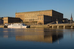 View of Royal Stockholm Palace, Sweden Stock Images
