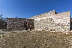 Ruins of Ancient Roman fortress The Trajan`s Gate, Sofia Region, Bulgaria stock image