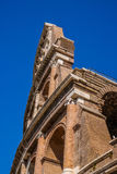 View of ruins of Colloseum, Rome, Italy Stock Image