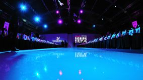 View of the runway at Audi Fashion Festival 2011 on May 14 Stock Photo