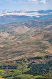 View of rural landscape of Holy Land in winter Stock Images