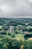 View on rural village Royalty Free Stock Image