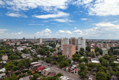 View of the Russian city of Samara Royalty Free Stock Image