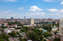 View of the Russian city of Samara Stock Images