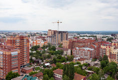 View of the Russian city of Samara Royalty Free Stock Images