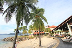 View in Sabah in Malaysia. Street view in Sabah, Malaysia. Sabah is Malaysia's easternmost state, one of two Malaysian states on the island of Borneo. It is also royalty free stock image