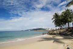View in Sabah in Malaysia. Street view in Sabah, Malaysia. Sabah is Malaysia's easternmost state, one of two Malaysian states on the island of Borneo. It is also Stock Photography