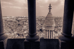 View from Sacre-C�ur tower Royalty Free Stock Photo