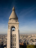 View from Sacre Coeur Stock Photo