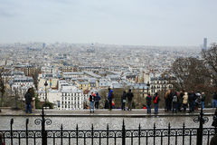 View of Sacre-Coeur Royalty Free Stock Images