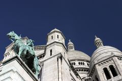 View of Sacre Couer Stock Images