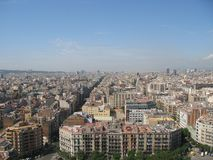 View from Sagrada Familia Stock Photos