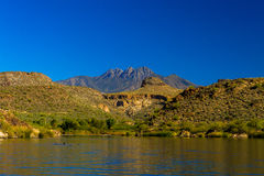 View From Saguaro Lake Stock Photography