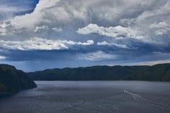 The Fjord stock photos