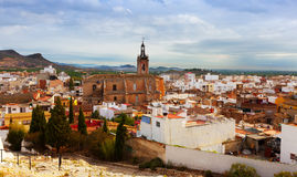 View of Sagunto in summer. Valencian Community Royalty Free Stock Photography