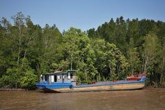 View of Saigon river. Vietnam Royalty Free Stock Photography
