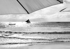 View of a sailboat Royalty Free Stock Photography