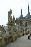 View Of Saint Barbara's Church (Cathedral of St Barbara) in Kutna Hora, Czech Republic Royalty Free Stock Photography