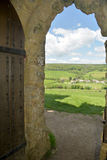View from Saint Catherines Chapel, Dorset Stock Image