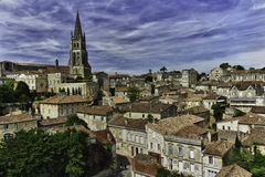 View of saint-emilion, france Royalty Free Stock Image