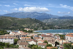 View of saint florent Royalty Free Stock Photo