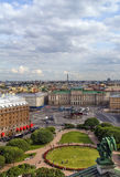 View Saint Isaac Square, Saint Petersburg Stock Photo