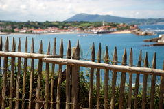 View on Saint-Jean-de-Luz and Ciboure Royalty Free Stock Image
