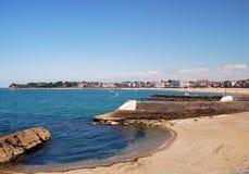 View on Saint-Jean-de-Luz and Ciboure Stock Photography