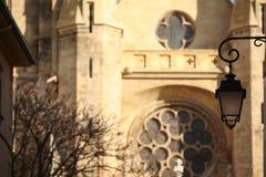 View of Saint Jean de Malte's church Royalty Free Stock Image