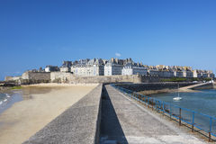 View of Saint Malo Stock Images
