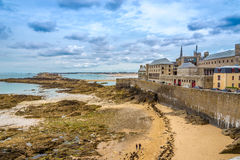 View at Saint Malo and Fort National Royalty Free Stock Photography