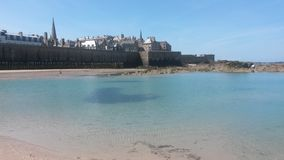 View of Saint Malo Royalty Free Stock Photo