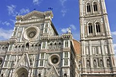 View of saint mary of the flower - florence Royalty Free Stock Images