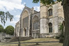 Saint Michael`s Church, Beccles, Suffolk, UK stock images