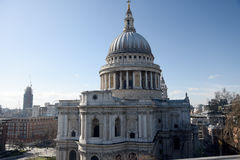View of Saint Pauls Cathedral, London Stock Photography