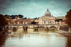 View of Saint Peter cathedral Royalty Free Stock Image