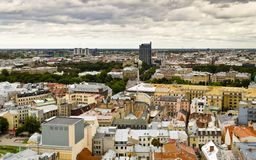 View from Saint Peter cathedral on Riga city Stock Photography