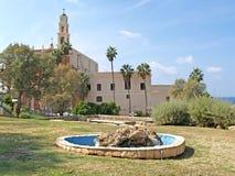 View of Saint Peter's Catholic church. Yaffo, Israel Royalty Free Stock Photography