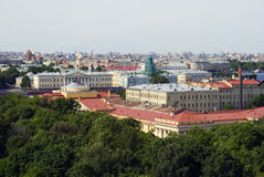 View of Saint-Petersburg city, Russia. Royalty Free Stock Image