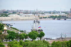 View of Saint-Petersburg from a height, Russia Royalty Free Stock Photography