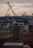 View of Saint Petersburg roofs Stock Photography