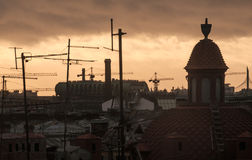 View of Saint Petersburg roofs Royalty Free Stock Photo