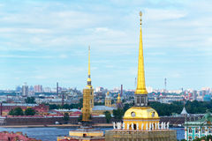 View of Saint Petersburg, Russia Royalty Free Stock Image
