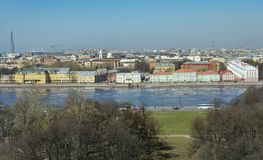 View of Saint Petersburg in the spring day royalty free stock photos