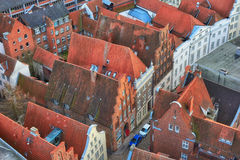 View from the Saint Petri Church tower Stock Image