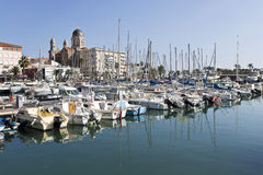 View of Saint-Raphael Royalty Free Stock Image