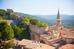 View of Saint Saturnin d Apt, Provence, France Stock Photography